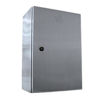 QSS400D Stainless Steel Enclosure with Hinged Door 300W x 400H x 150Dmm