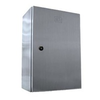 Stainless Steel Enclosure with Hinged Door