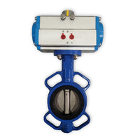 Single Acting 80mm Air Actuator & Wafer Valve