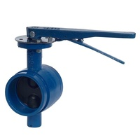 MANUAL WAFER VALVE - ROLL GROOVE [Size: 80mm]